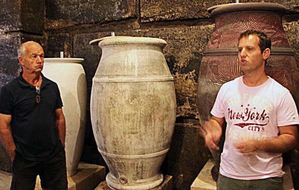 viret cosmoculture vin amphore