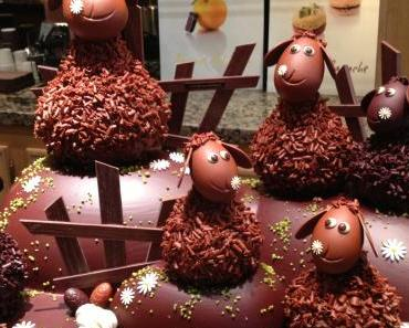 Pâques à la Maison du Chocolat, c'est Saute Mouton