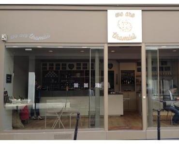 we are tiramisù, une boutique dédiée au tiramisu dans le 17ème