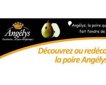 Découvrez la poire Angélys, la nouvelle variété de poire française !
