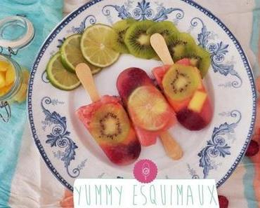 Esquimaux de fruits givrés