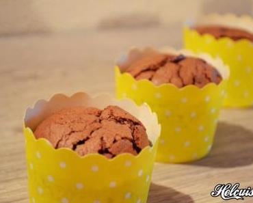Mini Moelleux au chocolat en muffins