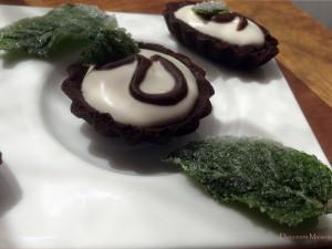 Mini Tartelettes Menthe Chocolat