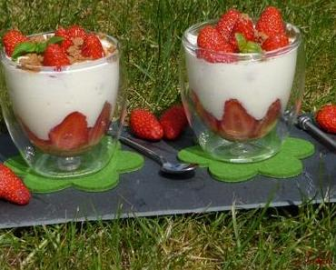 Nuage vanille fraise et spéculoos.