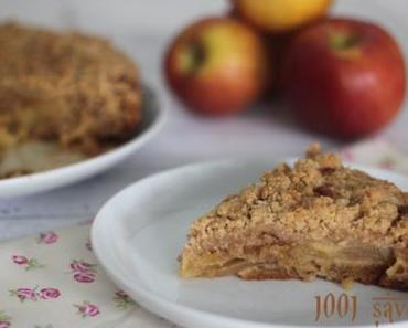 Apple Crumb Cake ( gâteau aux pommes et au crumble)