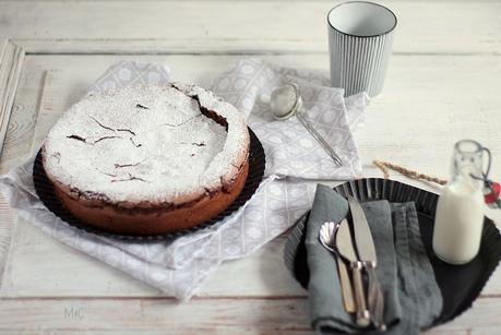 Gâteau au Chocolat sans Farine … ou Torta Caprese