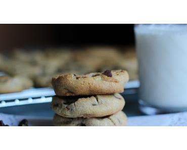 Biscuits aux brisures de chocolat sans gluten
