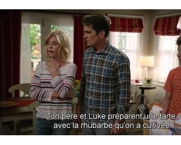 La tarte à la rhubarbe de Luke et Phil ~ Modern Family