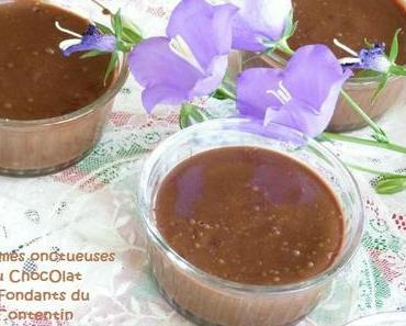 """ღ """" Miam """" Crème Chocolat et aux fondants du Contentin"""