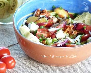 """ღ """" Miam """" Salade Fraîcheur aux Nectarines"""