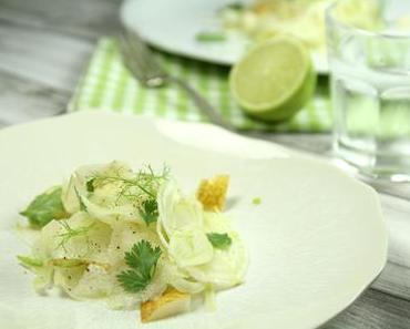 Salade fenouil, poire et coriandre {Vegan}