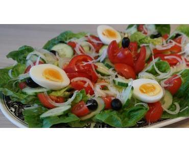 Salade aux oeufs – Recette facile de salade