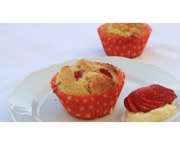 Muffins framboise et cantaloup facile