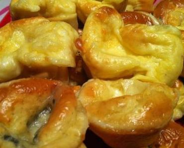 Ma farandole de muffins au fromage