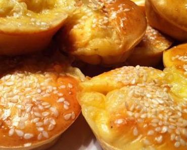 Muffins au Maroilles et graines de sésame