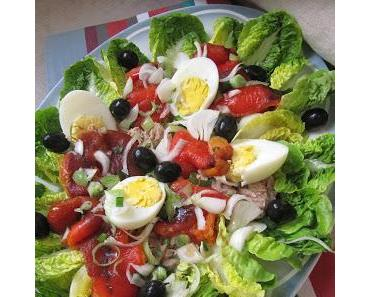 Salade sucrine au thon