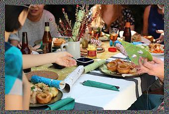 Id es de repas plats pour le menu de la f te des p res for Idee repas a partager