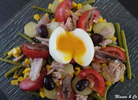 Salade niçoise en chaud / froid
