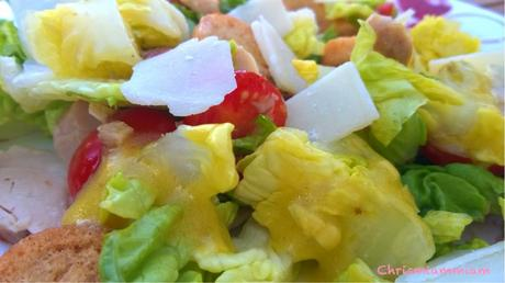 Salade César à ma façon