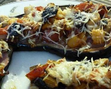 """ღ """" Miam """" Aubergine Pizza"""