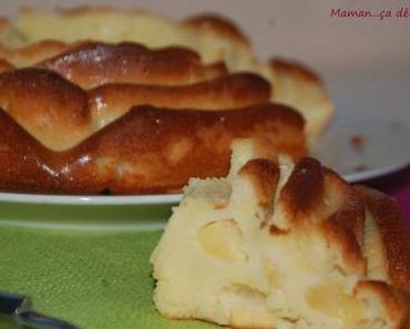 Gâteau 4×9 aux pommes