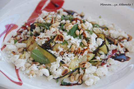Salade courgettes grillées2