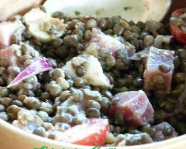 """ღ """" Miam """" Salade de Lentilles"""