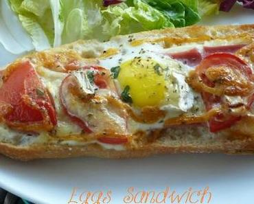 "ღ "" Miam "" Eggs Sandwich"