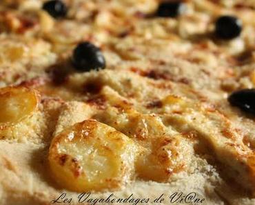 Pizza poulet - pommes de terre