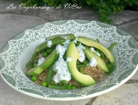 Salade Phedra (quinoa, avocat)