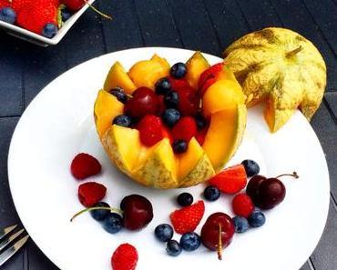 Melon Surprise aux Fruits Rouges