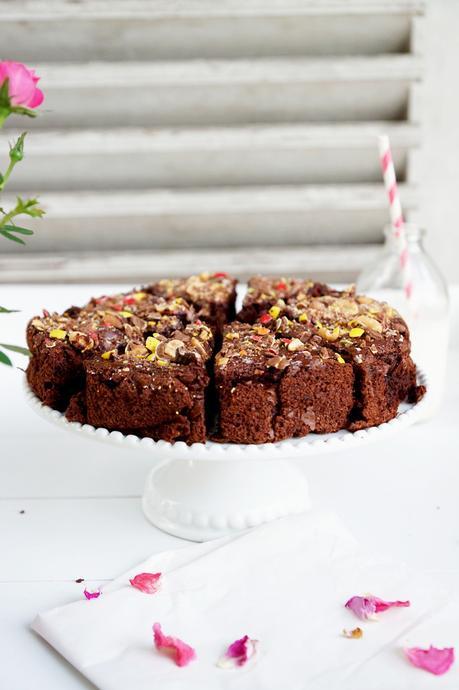 Gâteau moelleux au chocolat sans beurre à la courgette