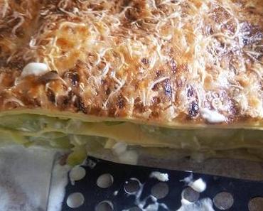 lasagnes courgette mascarpone végétarienne simple