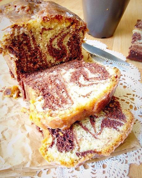 G teau marbr au chocolat et l amande sans sucre de philippe conticini - Gateau au chocolat sans sucre ...