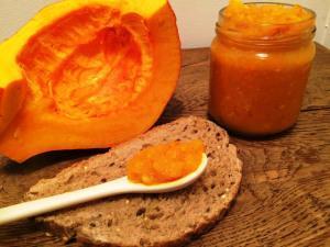 Marmelade de potimarron aux oranges
