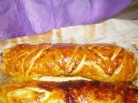 Filet mignon en croûte au confit d'oignons