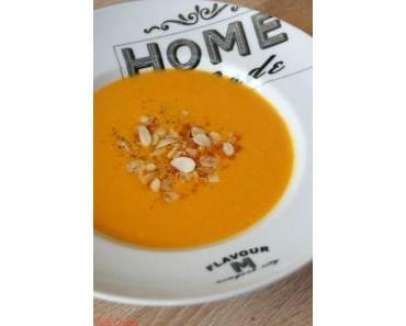 Soupe Potiron & Amandes
