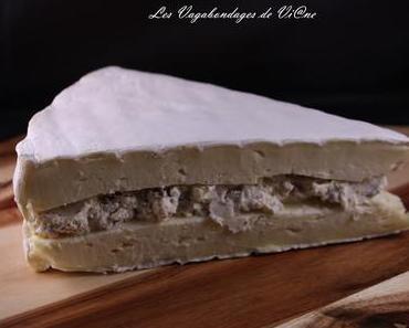Brie aux noisettes et à l'huile de truffe