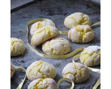 Craquelés au citron (crinkels)