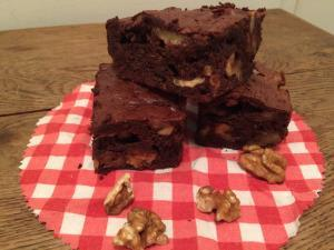 Brownies sans gluten et sans beurre