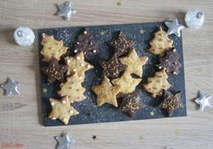 Petits Sablés de Noël – Vanille & Chocolat