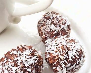 Recette de boules au chocolat et aux amandes, friandises avant Noël