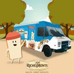 Le Foodtruck RichesMonts débarque à Paris ce week-end !