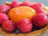 Tartelettes aux fraises et aux abricots