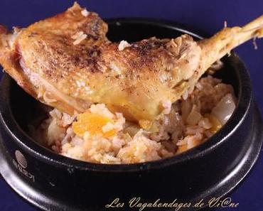 Riz au gras au poulet (du Burkina Faso)
