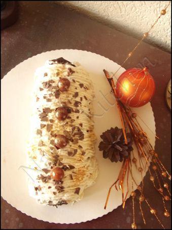 bûche mascarpone vanille-cerises (1)