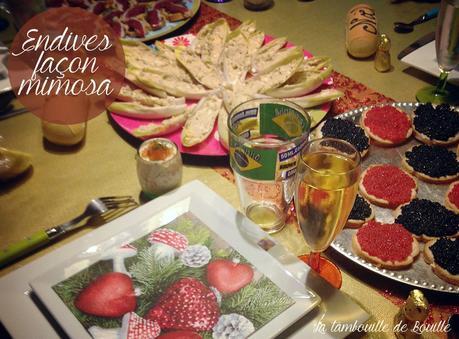Id e ap ro facile des endives fa on mimosa Idee cuisine facile