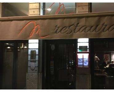 Le M Restaurant – Lyon 6ème