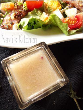 salade jambon pané miel et cacahuètes (3)