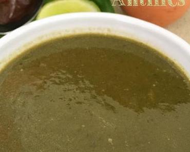 Le calalou des Antilles, soupe délicieuse
